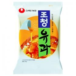 Snacks de arroz bañado de miel